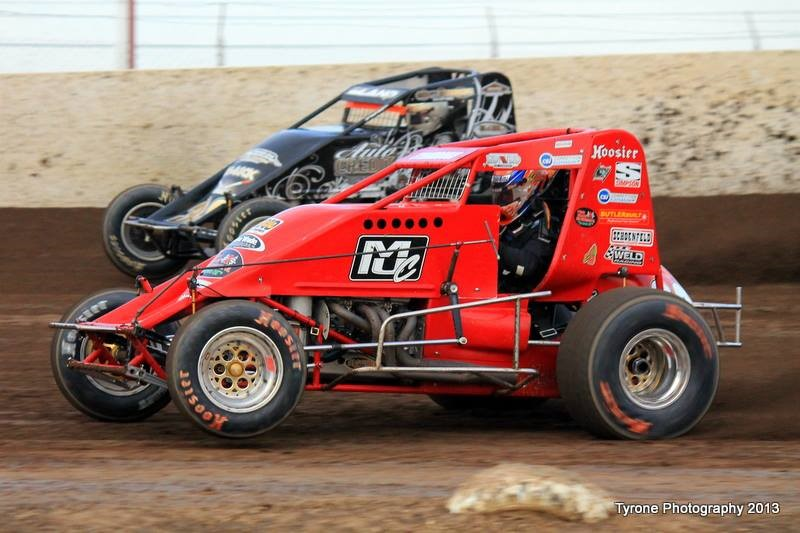 Wingless Sprint Car