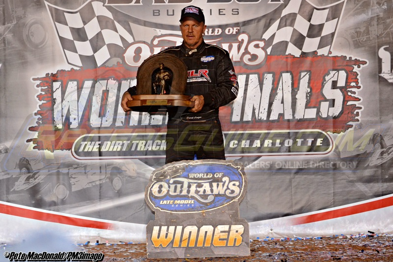 Lanigan's Record-Setting 2014 World of Outlaws Late Model Series Campaign Sets The Mark For National Touring Success