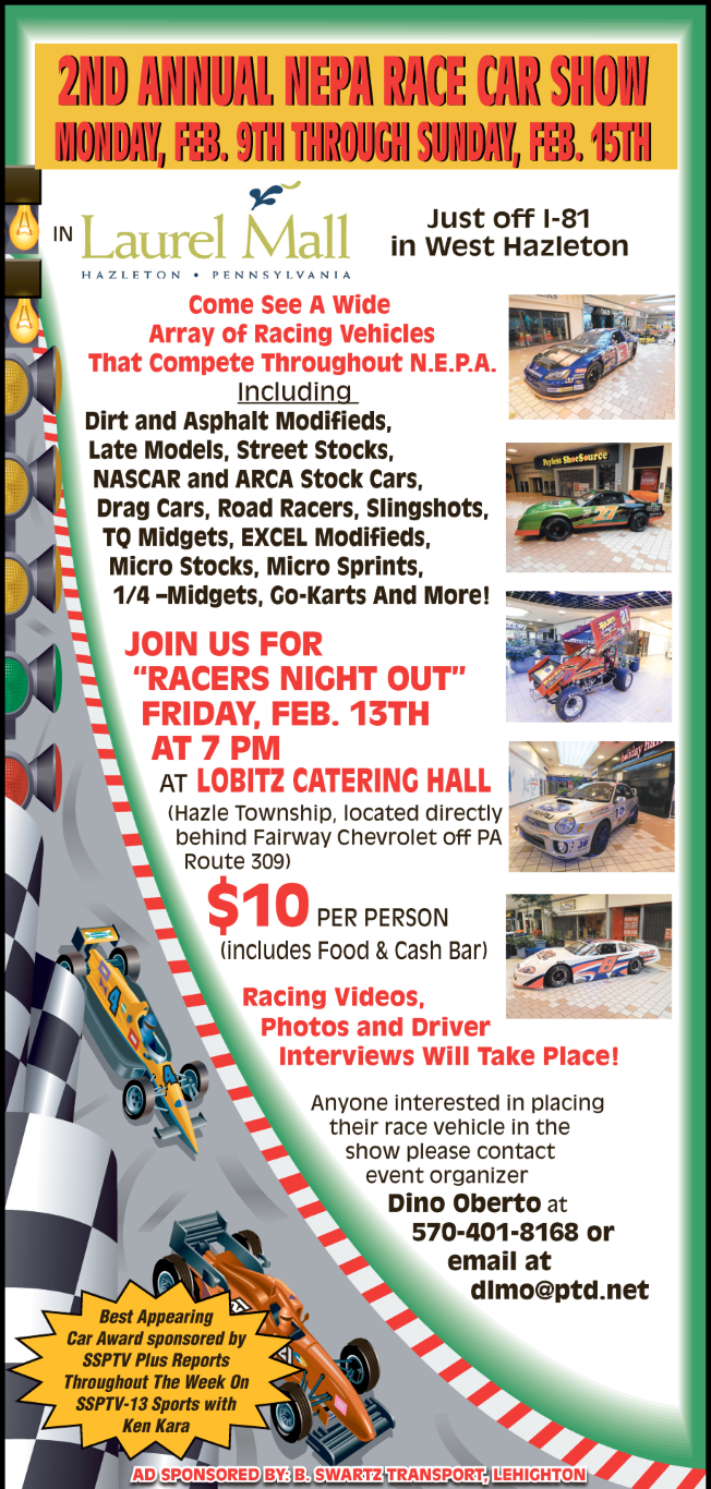 NEPA Race Car Show Promo