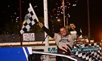 Red, White, and Blewett As Jimmy Takes the Victory at New Egypt Speedway