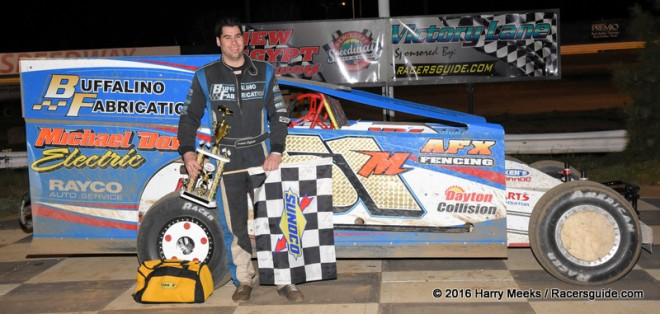 Buffalino Stays Hot With New Egypt Modified Win Racers
