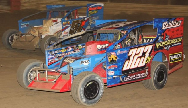 Pauch Masters The 358 Modified Field At New Egypt Speedway