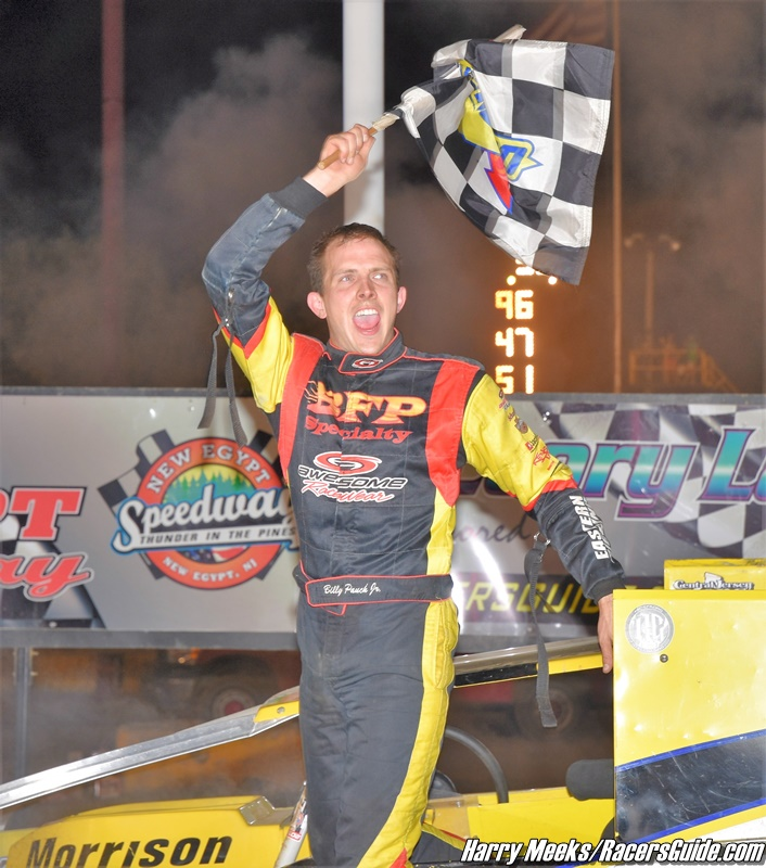 Pauch Jr Powers To A Win At New Egypt Speedway S All