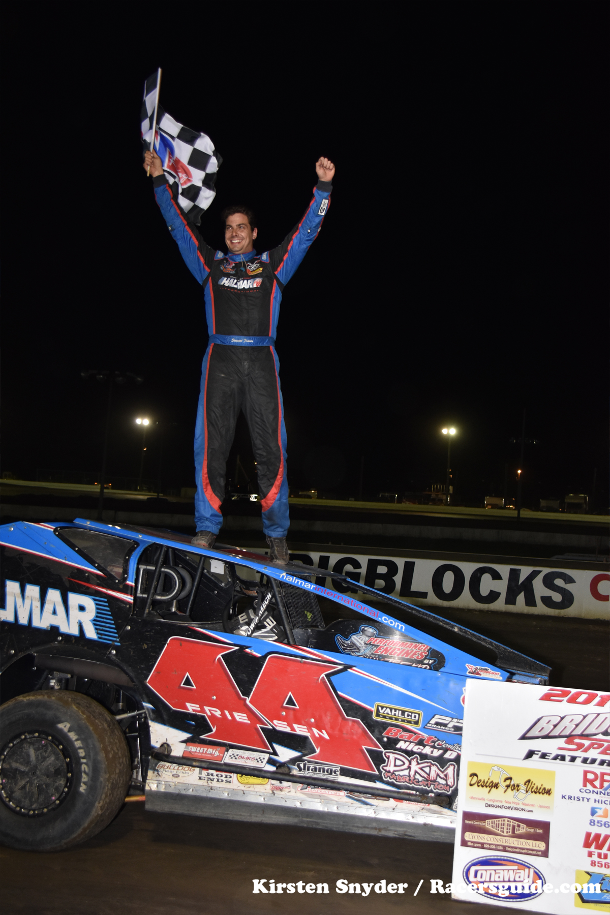 However, All Eyes Were On 18th Starter Neal Williams, Who Was Rim Riding  Around The Five Eighths Mile Speedway In Sal DeBrunou0027s South Jersey  Overhead Doors ...