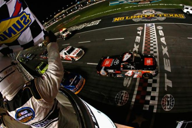 Bell rings up a winner at texas racers guide the web 39 s for Camping at texas motor speedway