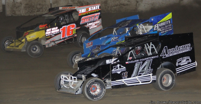 TWO WEEKLY FIVE MILE POINT SPEEDWAY MODIFIED DRIVERS BRING DIFFERENT ...