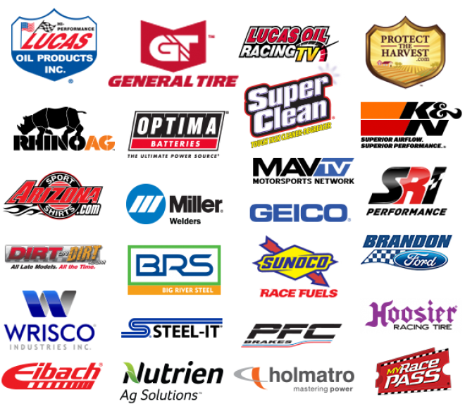 2020 Official Lucas Oil Late Model Dirt Series Marketing Partners